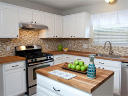One Of The Biggest Expenses In Any Kitchen Renovation Is New Cabinets. If  Yours Are In Good Shape, Though, Consider Keeping Them And Just Giving Them  A New ...